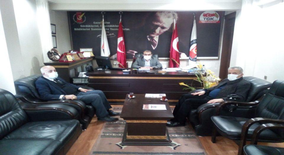 MHP Adıyaman'dan AGC'ye ziyaret