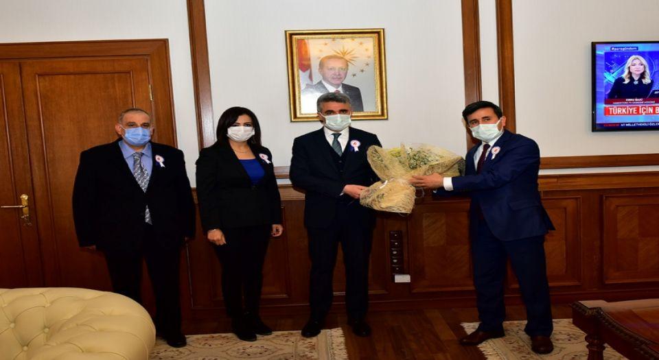 Vergi Haftası'nda Malatya Valisine ziyaret