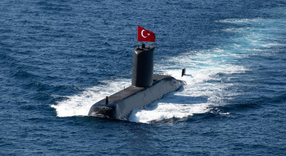 Türkiye, Dynamic Manta 21 tatbikatında