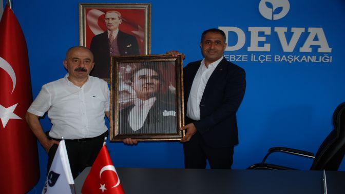 Ali Kemal Aydın, Deva'yı ziyaret etti