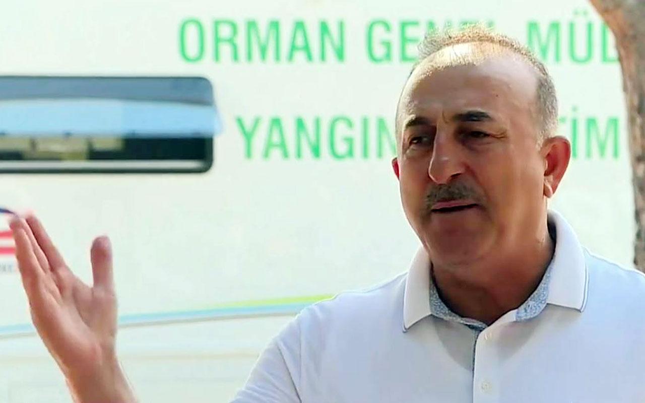 """Bakan Çavuşoğlu: """"Bu bir afettir, gurur yapılacak bir konu değil"""""""