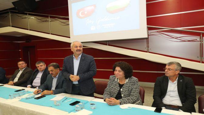 Başkan Büyükgöz'e Bulgaristan'dan konuk heyet