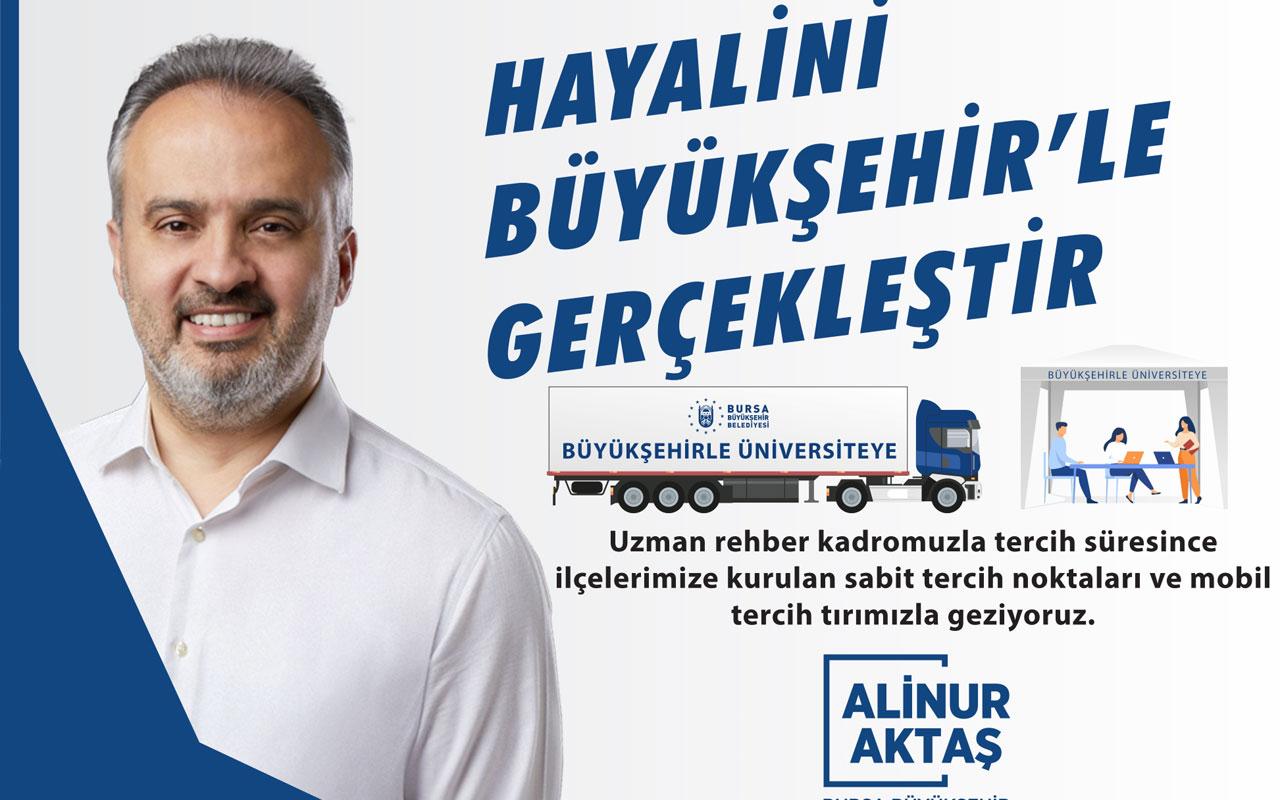 Bursa Büyükşehir'den adaylara 'tercih' desteği