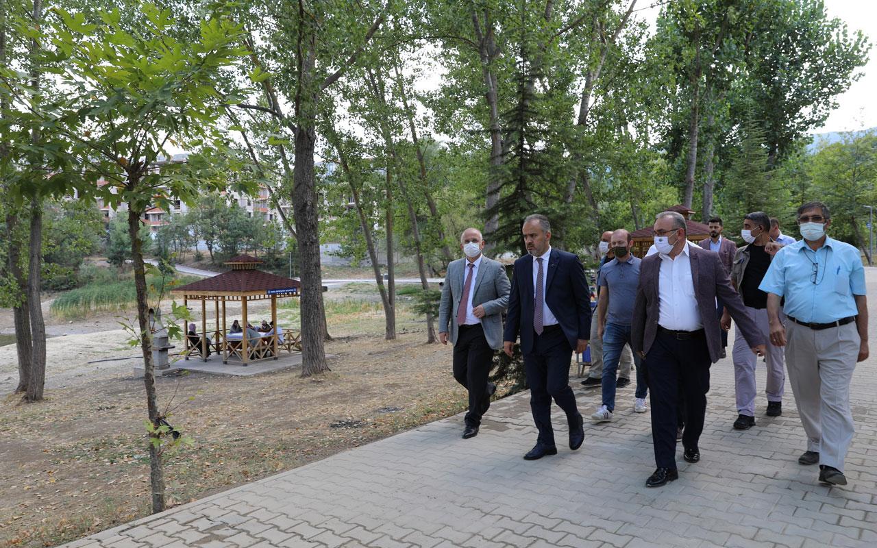 Bursa İnegöl'e yeni piknik alanı