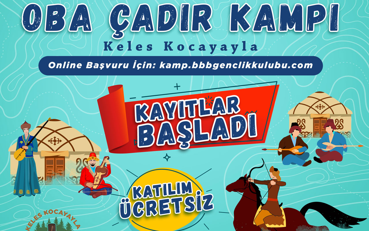 Bursa Kocayayla'da kamp zamanı
