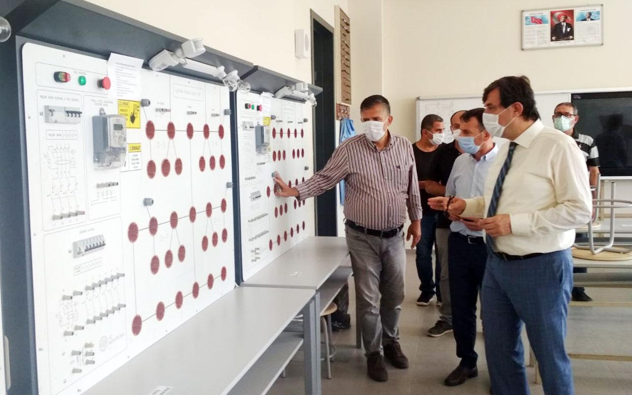 Bursa Yenişehir'deki okullara Müdür Dülger'den ziyaret