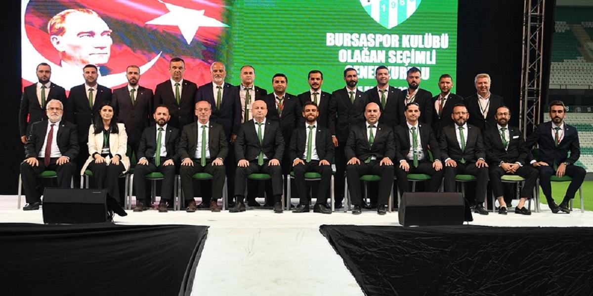 Bursaspor'da görev dağılımı yapıldı