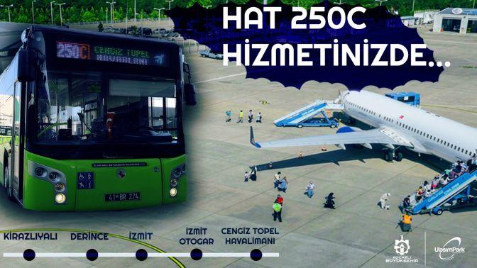 Cengiz Topel Havalimanı seferleri başladı