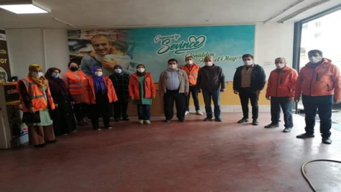 CHP'li Halis Koç'tan Vefa Destek Grubuna Teşekkür