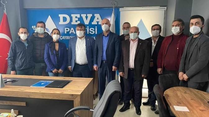 DEVA ÇAYIROVA , CHP ÇAYIROVA'YI AĞIRLADI