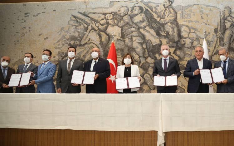 Gaziantep Büyükşehir'den OSB işbirliği