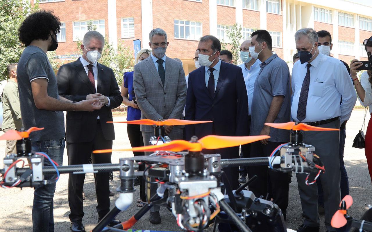 Gaziantep'te Teknofest öğrencilerine İHA eğitimi