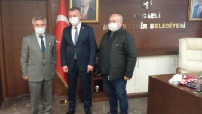 İGD Başkan Büyükakın'ı ziyaret etti