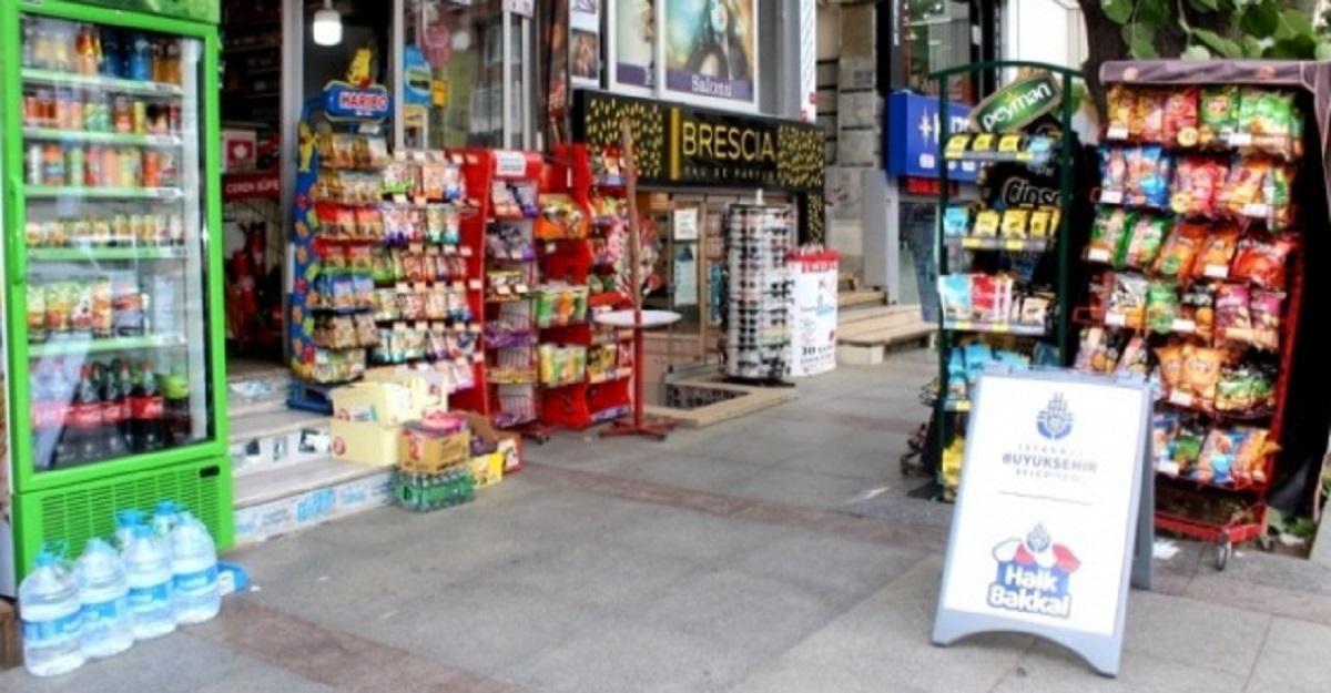 İstanbul Halk Bakkal projesi gün sayıyor