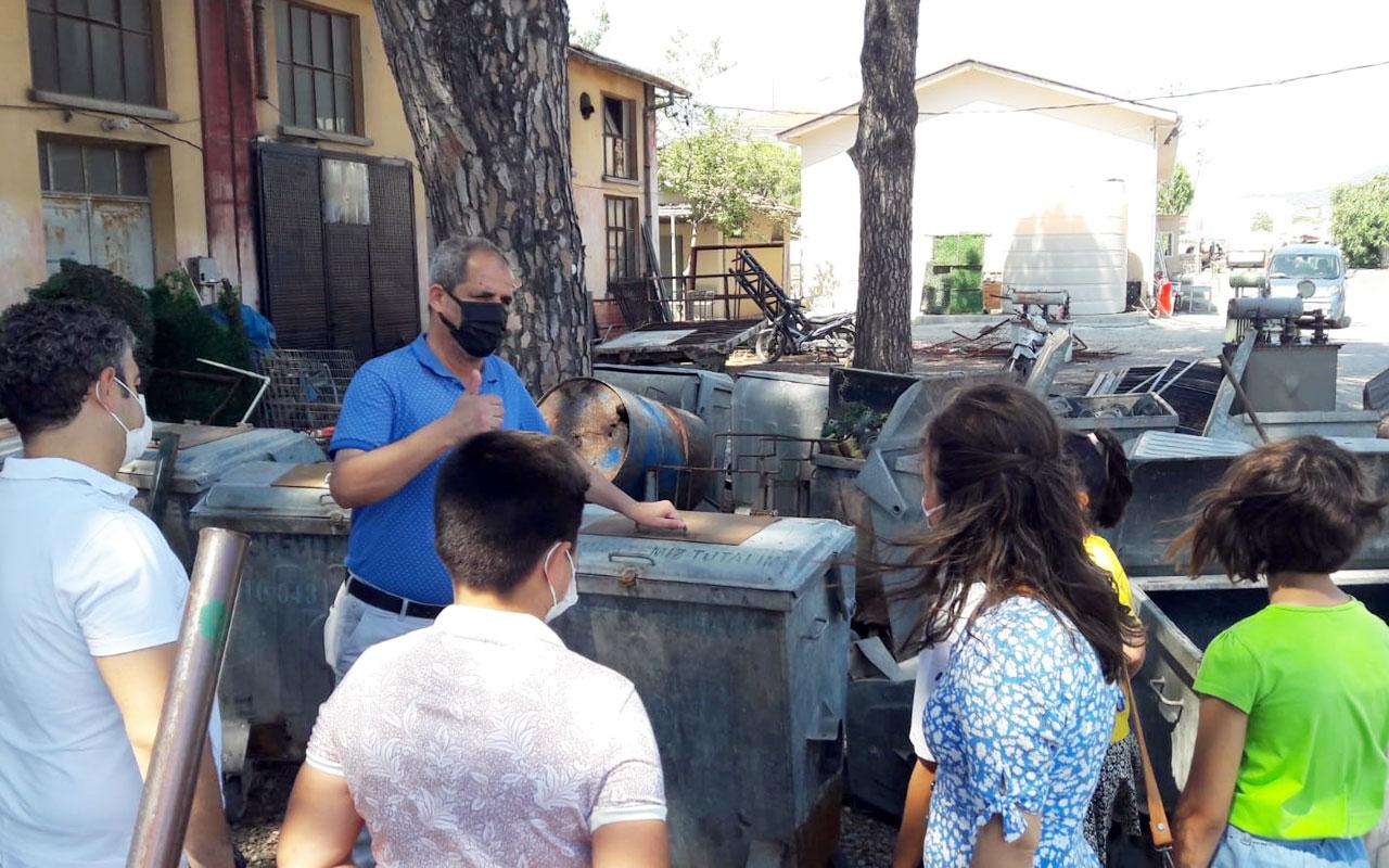 İzmir Bergama'da çocuklara çevre bilinci