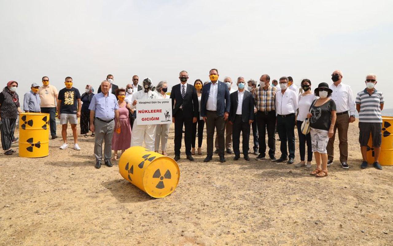 İzmir'in Çernobili uluslararası ortama taşınacak