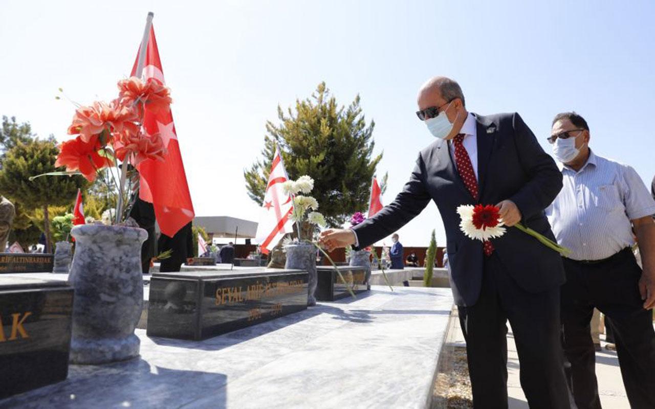 Kıbrıslı Türkler şehitlerini andı