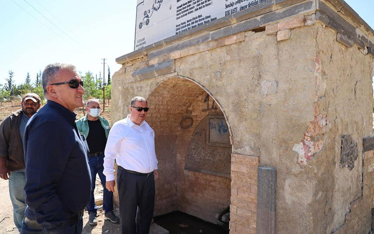 Kilis'te Başkan Ramazan'dan Kuru Kastel'e park müjdesi