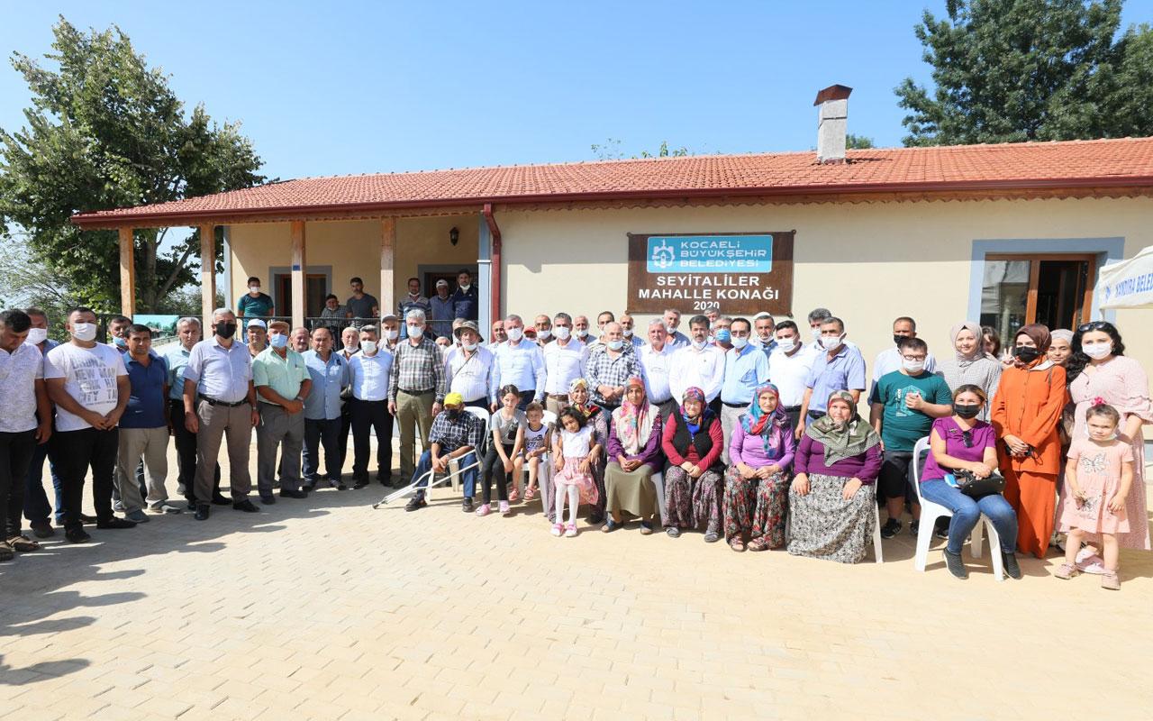 Kocaeli Kandıra'da eski okul sosyal tesise dönüştü