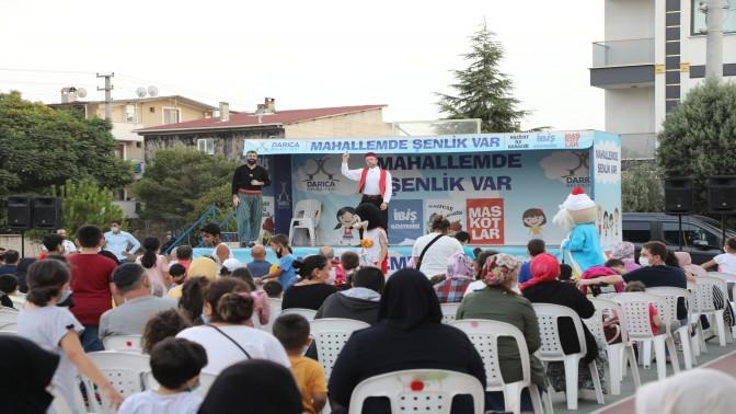 'MAHALLEMDE ŞENLİK VAR' ETKİNLİĞİ DEVAM EDİYOR