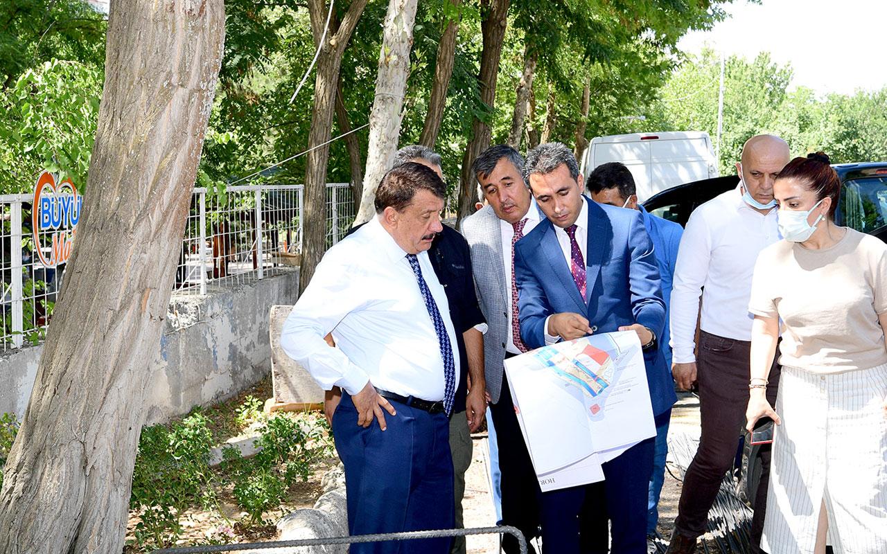 Malatya'da Başkan Gürkan'dan Horata Mesire Alanı'na inceleme