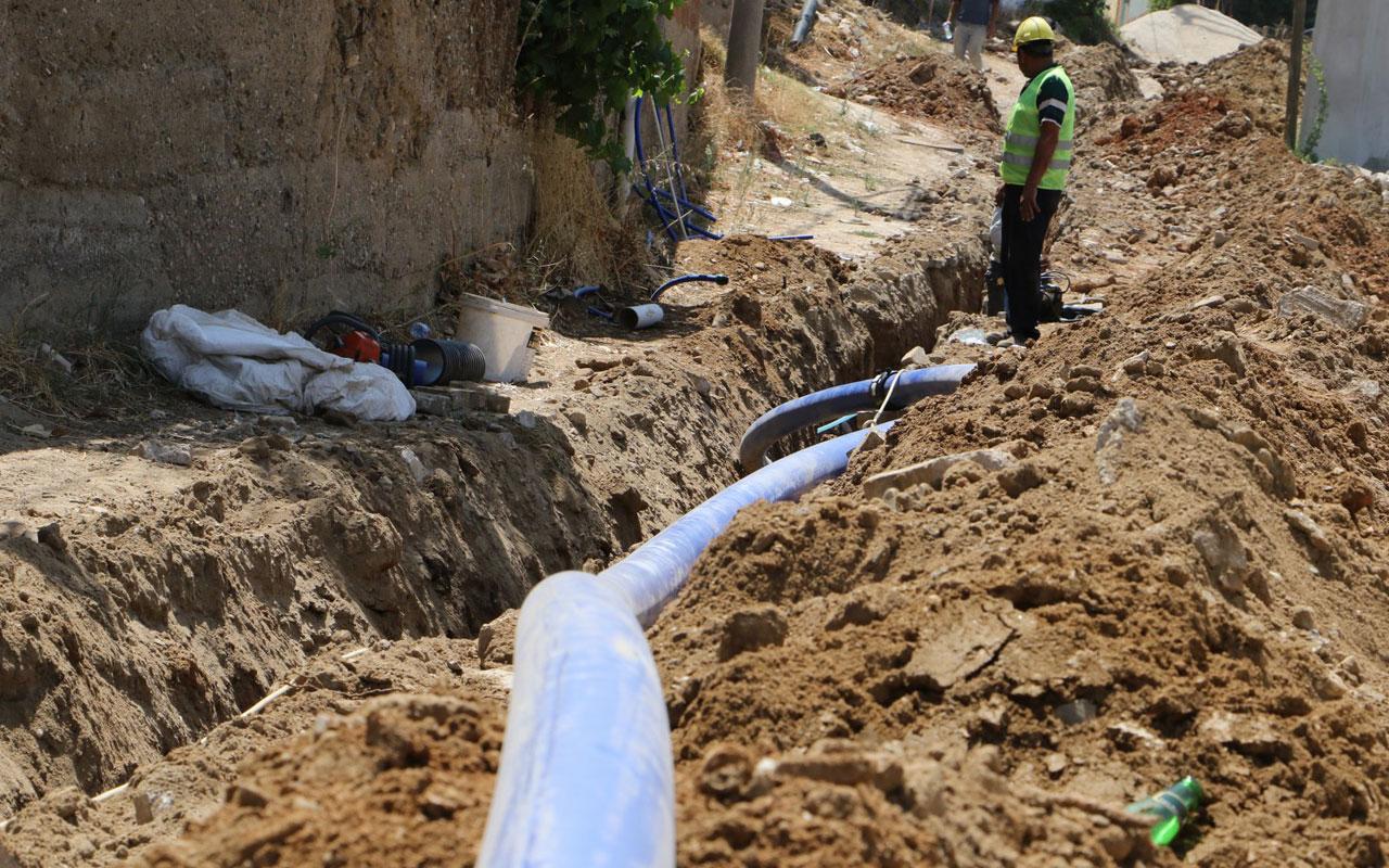 Manisa Turgutlu'da altyapıya 9 milyon liralık yatırım