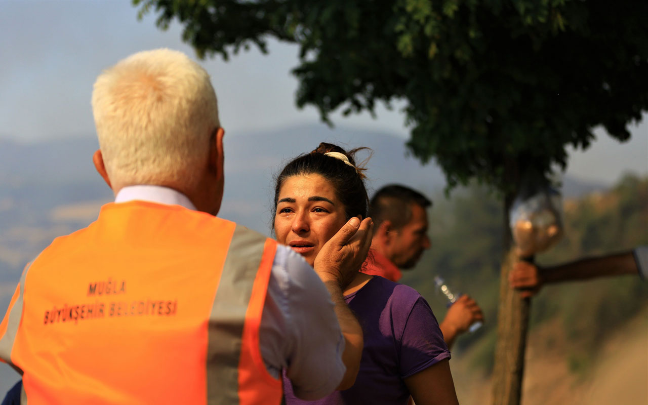 Muğla'daki yangın bölgelerine Başkan Gürün'den inceleme