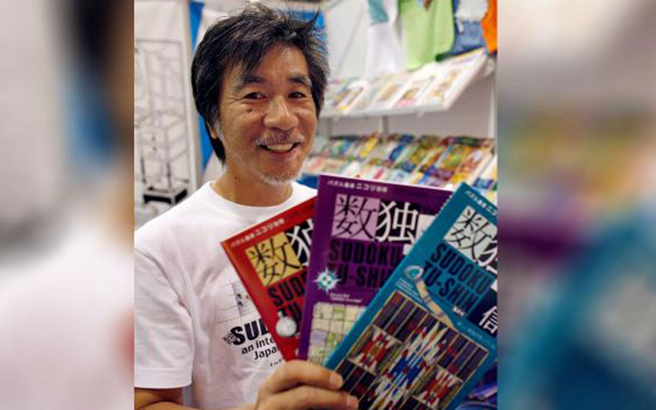 Sudoku'nun mucidi Maki Kaji öldü