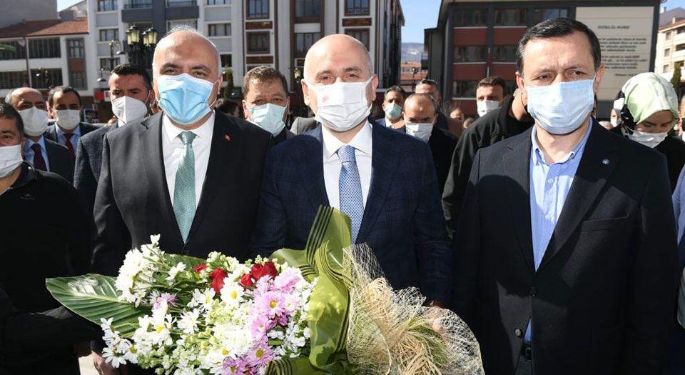 Bakan Karaismailoğlu, Kızılcahamam'da