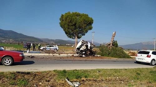Denizli Acıpayam'da trafik kazası: 1 yaralı