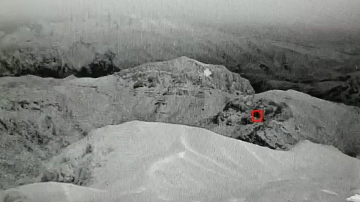 Zer Tepe'deki komandolar saldırıyı havada imha etti!