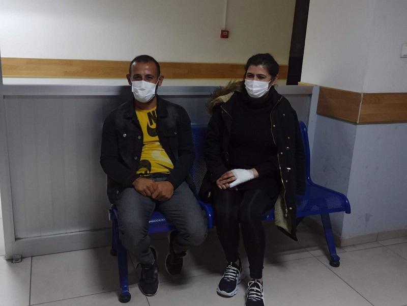 Aksaray'da Olay Haber muhabiri darp edildi!
