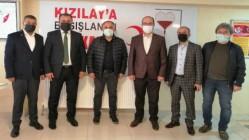 AKSU KIZILAY'I ZİYARET ETTİ