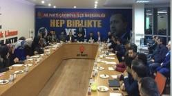 BAŞKAN GÜR'DEN MAHALLE KOORDİNASYON TOPLANTISI
