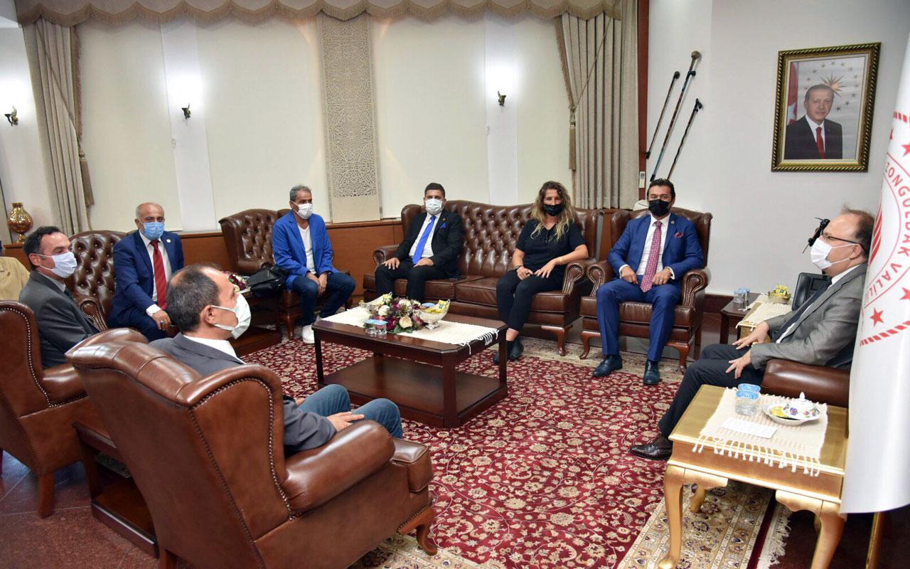 BATİYAC'tan Zonguldak Valisi Tutulmaz'a ziyaret
