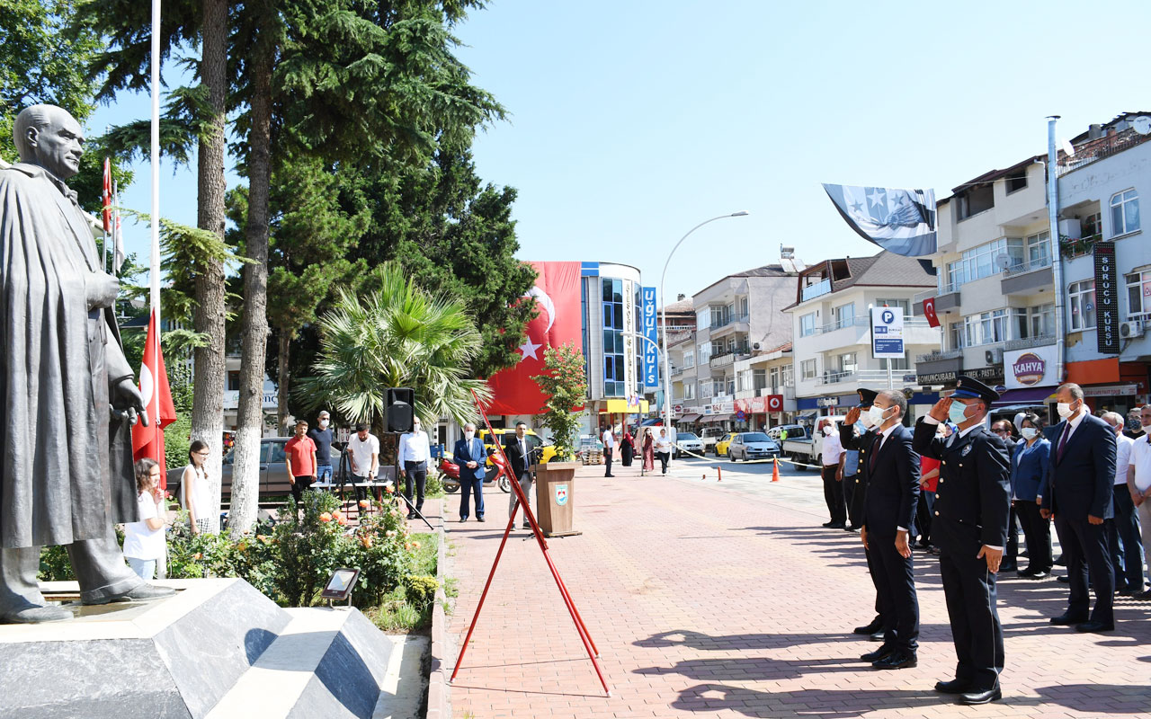 Bursa'da Atatürk'ün İznik'e gelişinin 86. yılı kutlandı