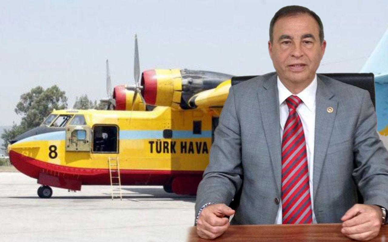 CHP'li Kemal Demirel'den Bakan Pakdemirli'ye 'yangın uçağı' mektubu