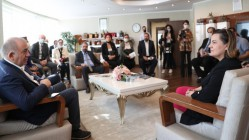 CHP MİLLETVEKİLİ GÜRSEL TEKİN'DEN BAŞKAN HÜRRİYET'E ZİYARET