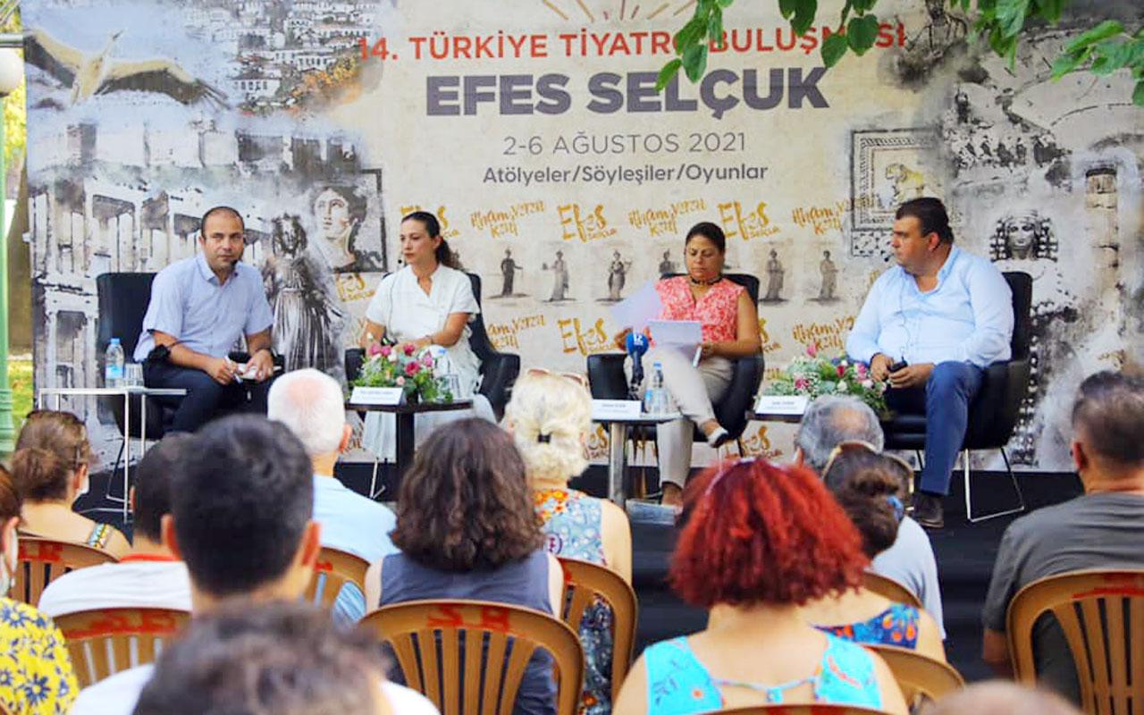 Efes Selçuk, 14. Türkiye Tiyatro Buluşması'na ev sahipliği yapıyor