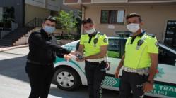 GURME'DEN POLİSE BAYRAM ŞEKERİ