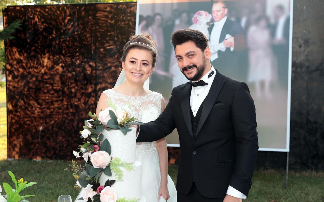İzmitli çiftler, Atatürk'ün düğün fotoğrafı ile anılarını ölümsüzleştiriyor