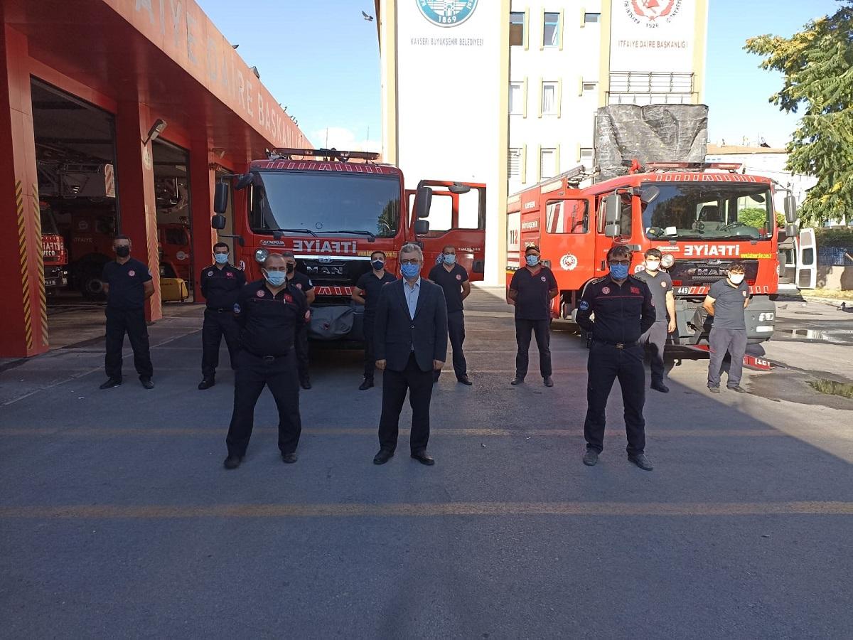 Kayseri Büyükşehir'den Manavgat'a destek ekibi