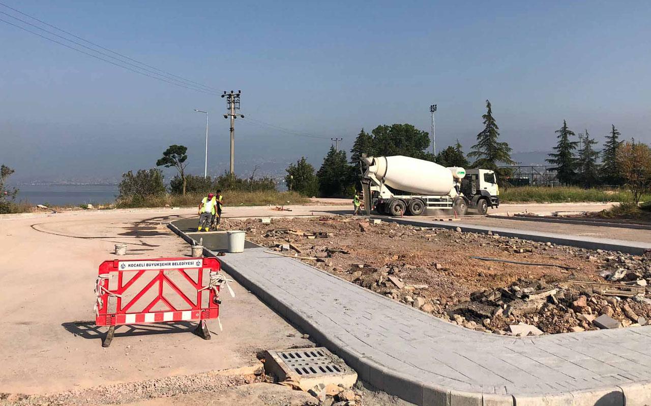 Kocaeli'de çocuklara 'trafik eğitim' parkı