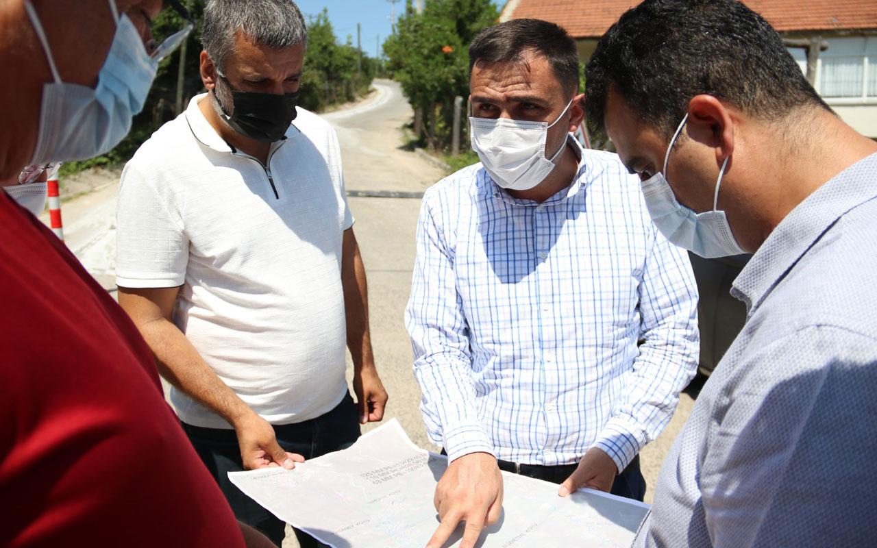 Kocaeli'nin üç köyüne doğal gaz geliyor