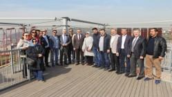 KÖŞKER MECLİSİ 'MACERA'DA AĞIRLADI