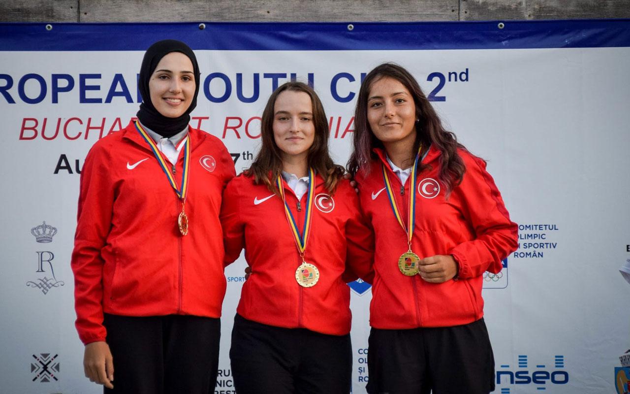 Muğla'nın okçuları Avrupa'nın en başarılı takımı oldu