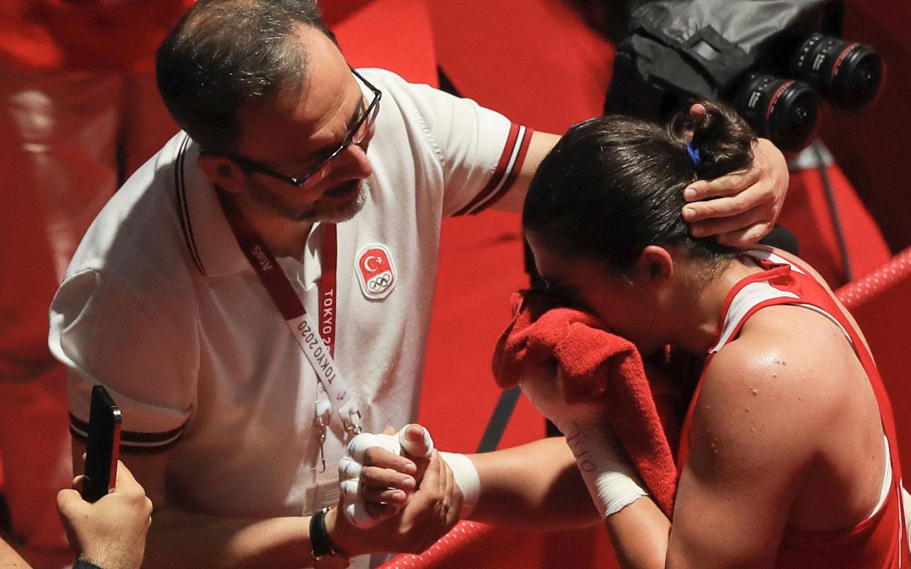 """Olimpiyat şampiyonu Busenaz: """"Çok mutluyum"""""""