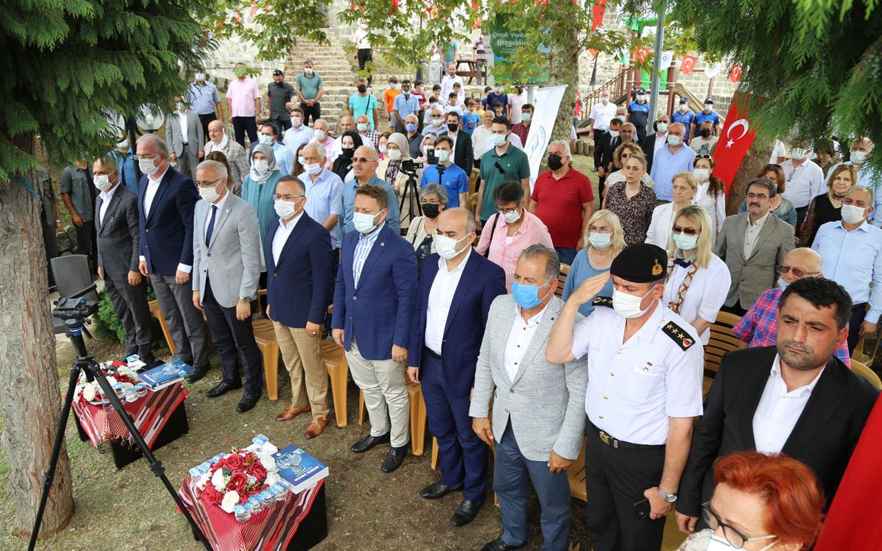 Rize'de eski başkan Ekrem Orhon dualarla anıldı