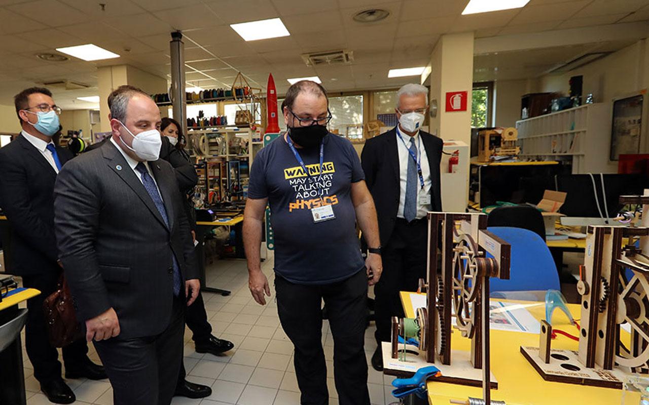 Türk heyetinden İtalya'da ICTP ziyareti
