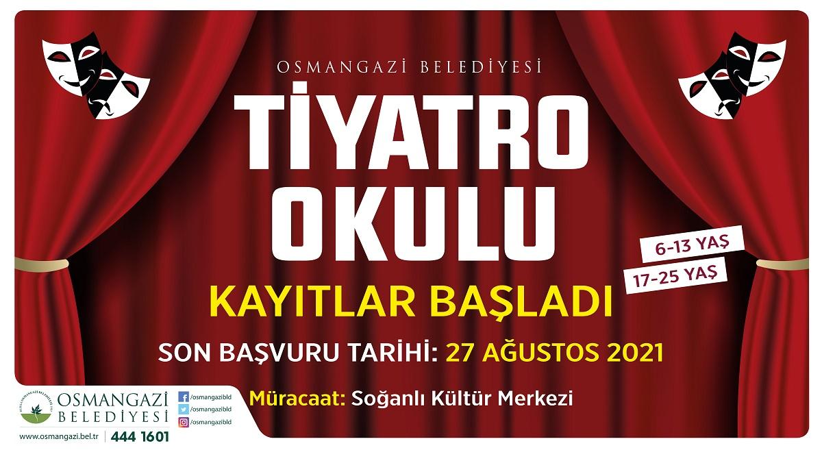 Tiyatro tutkunları Bursa Osmangazi'de buluşacak